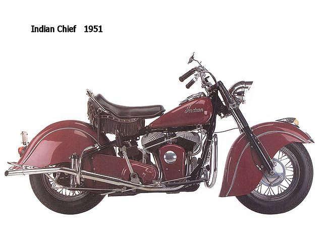 foto moto -1951-Indian-Chief
