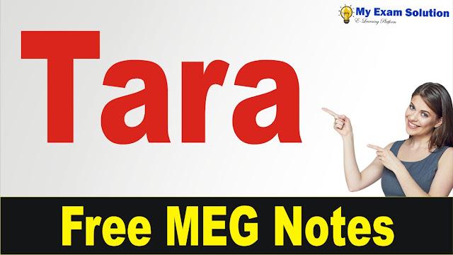Tara summary pdf, tara , tara characters, tara meg 07, tara by mahesh duttani, tara notes