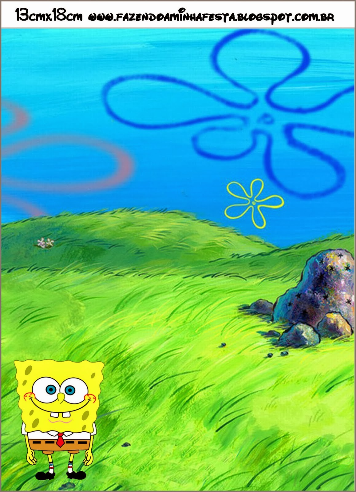 Spongebob Squarepants Free Printable Cards And Invitations Oh My