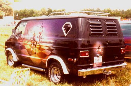 Mobil Van Modifikasi (USA)
