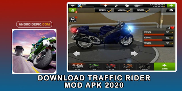Download Traffic Rider Mod Apk 2020