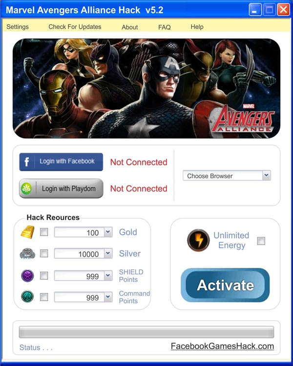 Marvel Avengers Alliance hack tool v1.6.rar