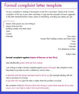 Sample Formal Complaint Letter from 1.bp.blogspot.com