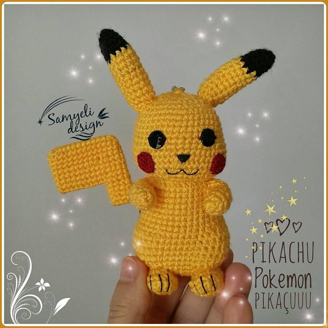 Amigurumi Pikachu Bere Yapılışı