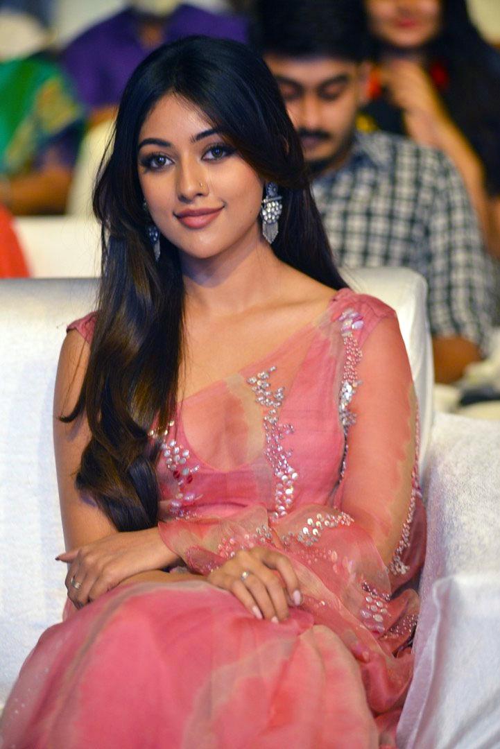 gorgeous Anu Emmanuel pics In Pink Saree