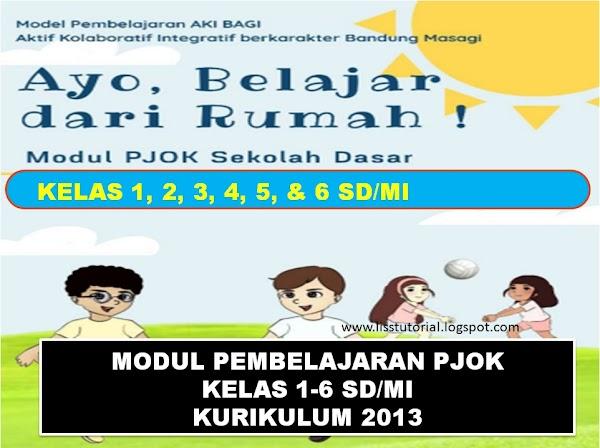 Modul Pembelajaran Daring PJOK Kelas 1-6 SD/MI Kurikulum 2013