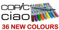 Free Brand New Copic Ciao's