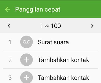 Cara mencari dan memutar pesan suara ( voicemail ) pada nomor handphone
