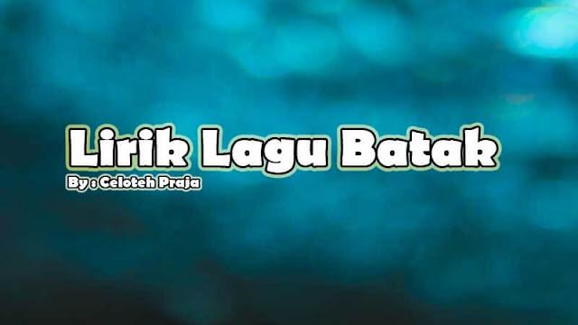 Lirik Lagu Batak Burju Ma Ho O Boruku |Boru Na Basa