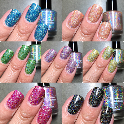 KBShimmer Mega Flame Collection, Spring 2016