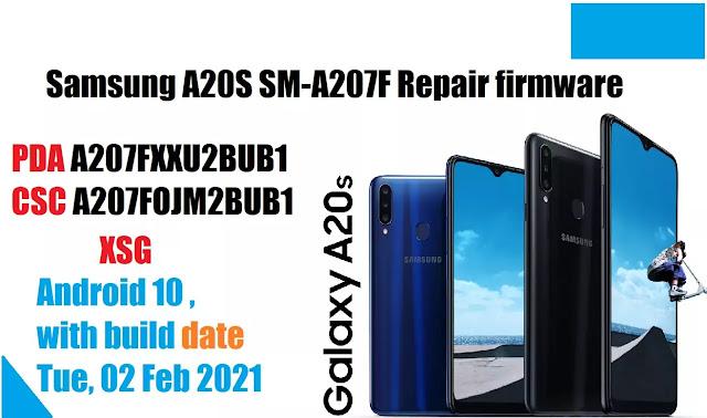 Samsung A20S SM-A207F Repair firmware