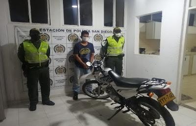 hoyennoticia.com, Se robó una moto en San Diego-Cesar