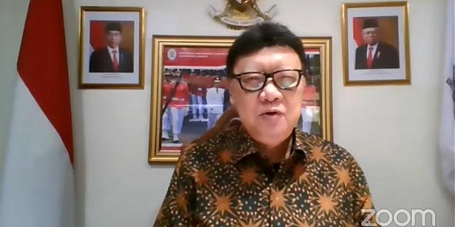 Tjahjo Kumolo Ngaku Tiap Bulan Pecat PNS Yang Terpapar Radikalisme Hingga Korupsi