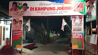 Di Tegal Ada Kampung Jokowi, Wujud Cinta Terhadap Presiden Asal Solo