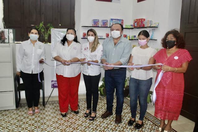 Abre el ONMPRI primer Dispensario Médico Infantil en Mérida