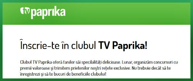 regulament castigatori concurs clubul tv paprika
