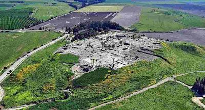 ruinas-de-Megiddo