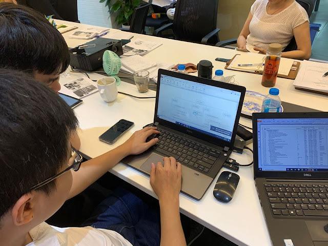 Đào tạo Ms Project tại Công ty Thủ Đô Multimedia 3