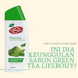 Sabun green tea Lifebuoy