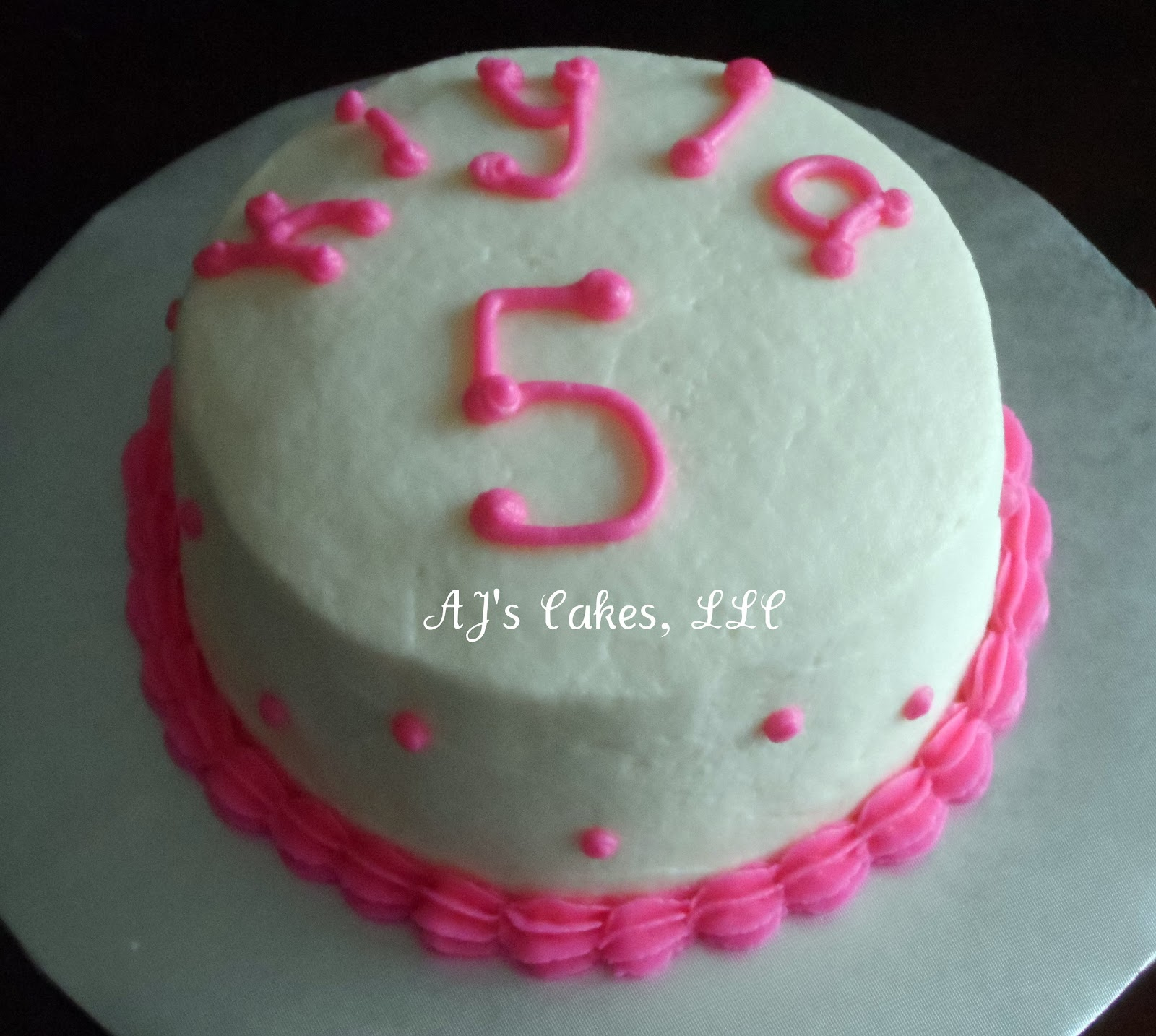 Mickey Mouse Smash Cakes Buttercream: AJ's Cakes: Mickey Mouse Clubhouse Cake And Smash Cakes