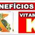 Benefícios da vitamina K para saúde