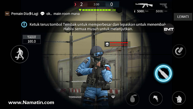 mod point blank garena android tanpa root