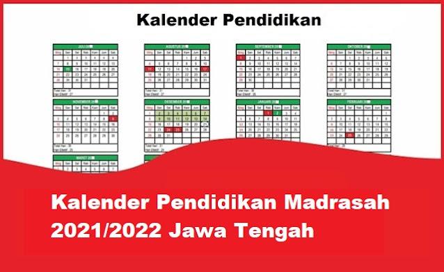 kalender pendidikan madrasah jawa tengah