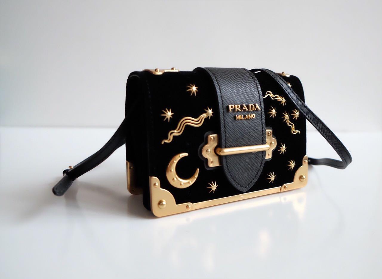 Prada Cahier Astrology Bag