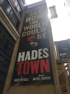 Come See How The World Could Be Hadestown Banner Broadway