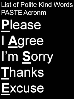 List of Polite, Kind Nice Words, Phrases Examples