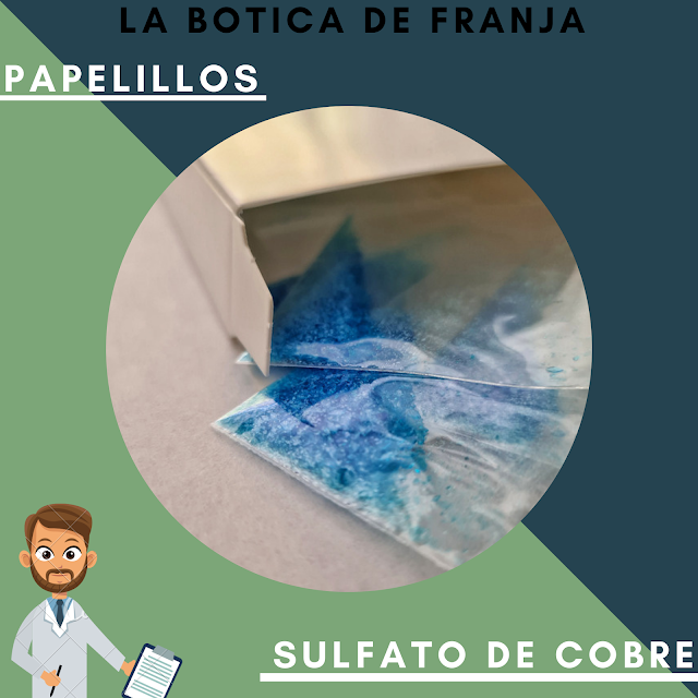 SULFATO DE COBRE | PAPELILLOS