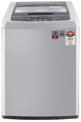LG 6.5 kg 5 Star Smart Inverter Fully-Automatic Top Loading Washing Machine (T65SKSF42)
