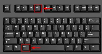 ini terbilang gampang dan praktis tanpa harus mencari Cara Mematikan Laptop dengan Keyboard Tanpa Ribet
