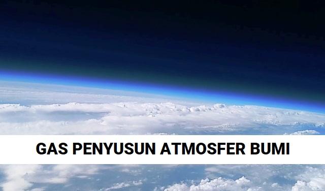 Urutan Ranking Gas Penyusun Atmosfer