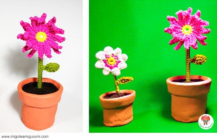 flores tejidas en ganchillo - migoteamigurumi.com