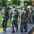 Prajurit Yonif Raider 321/GT/13/1 Kostrad Terima Kunjungan Kerja Pangdivif 1 Kostrad