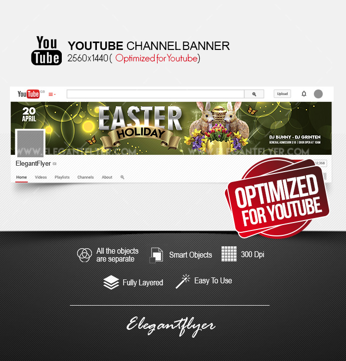 1200+ Best Youtube Channel Art Templates | Free & Premium