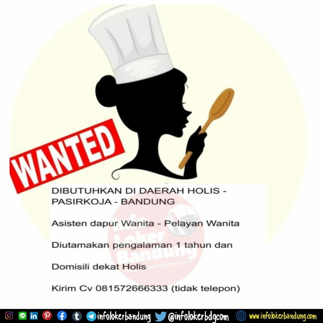 Lowongan Kerja Pelayan Wanita Bandung Februari 2020
