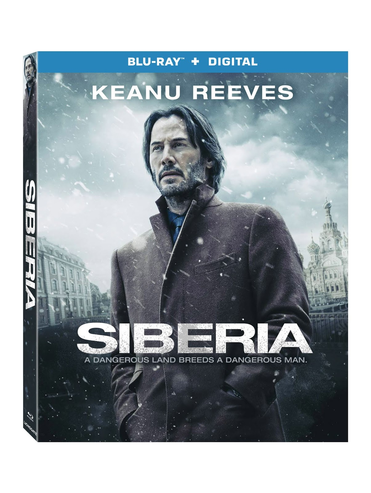 Keanu Reeves Stars In Siberia Arriving On Blu Ray Plus Digital Catriona Maika Top Handle Bag Black The Gripping Thriller Dvd And September 18 From Lionsgate