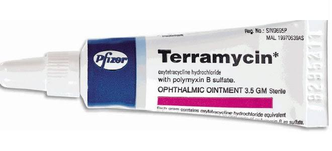 سعر ودواعي استعمال مرهم تيراميسين teramycin لعلاج العين