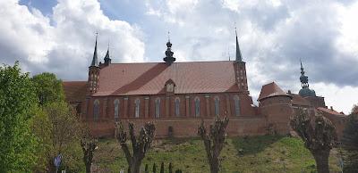 Bazylika katedralna na wzgórzu we Fromborku