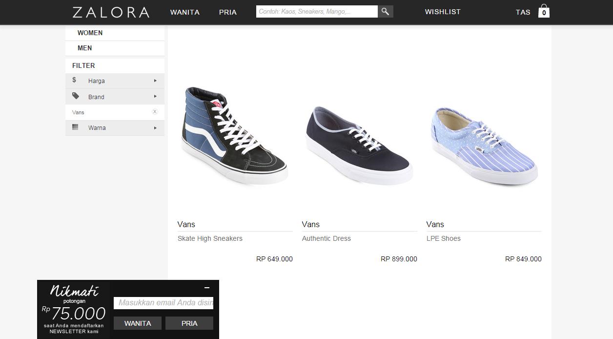 xBOYx: Cara Membedakan dan Membeli Sepatu Vans Original atau