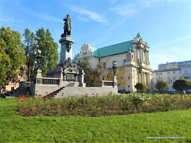 la ruta más bonita para hacer en Varsovia