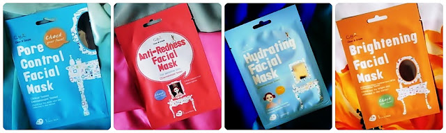 CETTUA - maski w płachcie