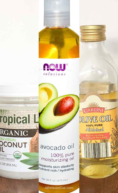Non-penetrating Natural Oils You Can Use On Relaxed Hair | A Relaxed Gal