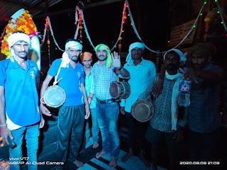 कोरोना के साये में भी जिलेभर के गाँव गाँव-मे धूमधाम से मना विश्व आदिवासी दिवस