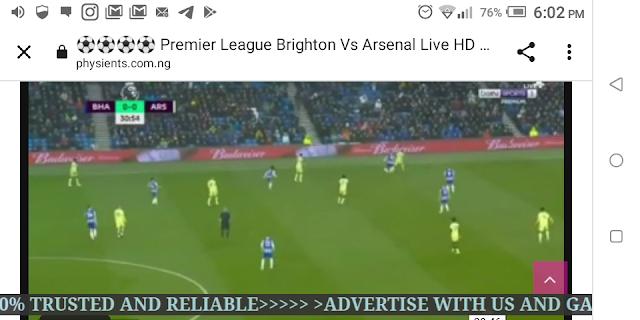 ⚽⚽⚽⚽ Premier League Brighton Vs Arsenal Live HD ⚽⚽⚽⚽
