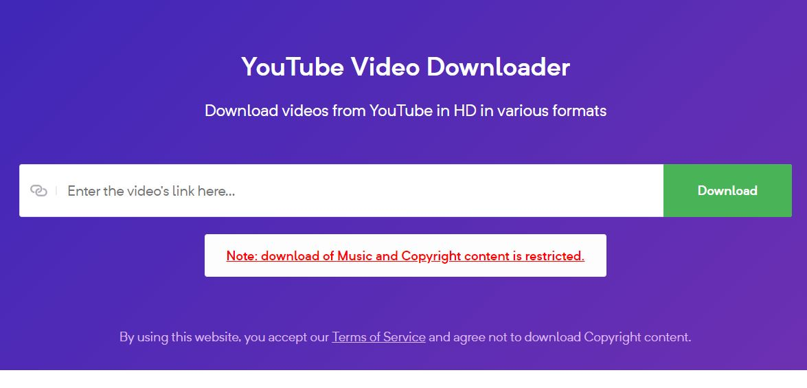 Download Youtube Videos in MP4 Format