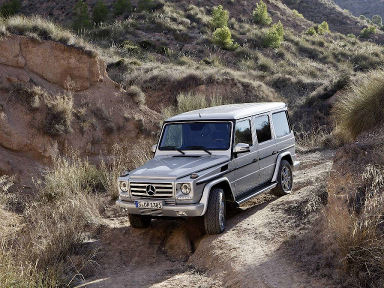 2013 Mercedes Benz G Class Normal Resolution HD Wallpaper 4