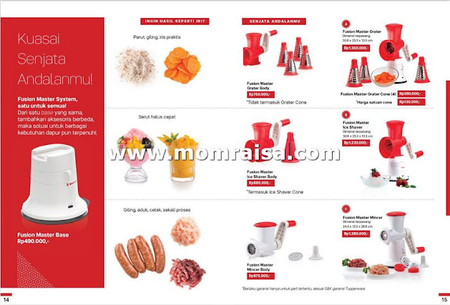 Katalog promo tupperware bulan Agustus 2019